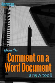 How to Add Comments to a Word Document | Draw on a Word Document | Microsoft Office 2016 Draw Tool Tutorial via @GermanPearls