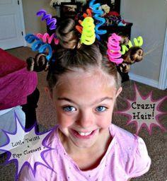22 Mejores Imagenes De Peinados Locos Para Ninos Crazy Hair Crazy
