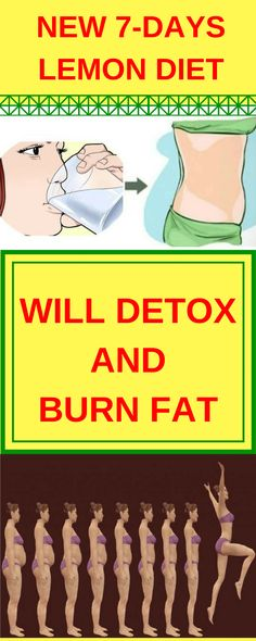 New 7-Days Lemon Diet Will Detox and Burn Fat!