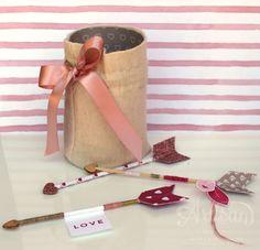 Stampin' Up! Artisan Design Team I Love Arrows for Valentine's Day I Love Blossoms