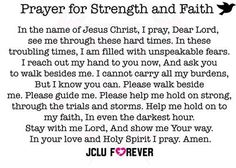 A Mothers Prayer for strength as her son battles addictions.