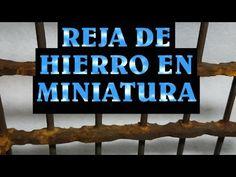 Reja de hierro miniatura para el belen - GRATING OF IRON IN MINIATURE
