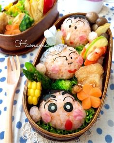 {B0C15769-1A6C-4D4C-A76F-FCEE66C13085} Bento Kids, Bento Box Lunch, Bento Recipes, Healthy Diet Recipes, Food Art For Kids, Kawaii Bento, Cute Snacks, Cafe Food, Sushi