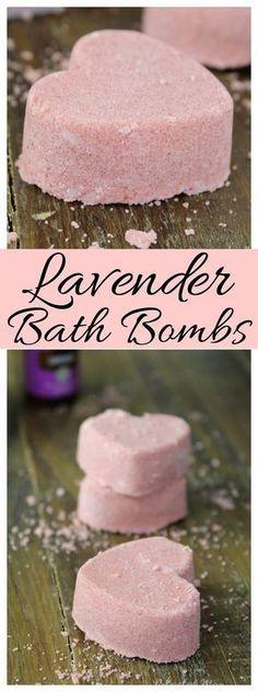 These Lavender Bath
