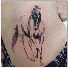 Mini Tattoos, Flower Tattoos, New Tattoos, Cool Tattoos, Unicorn Tattoos, Animal Tattoos, Horse Tattoo Design, Tattoo Designs, Cowgirl Tattoos