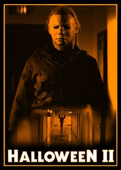 Halloween 2 1981, Halloween Film, Halloween Series, Halloween Poster, Halloween Horror, Best Horror Movies, Scary Movies, Michael Myers, Horror Themes