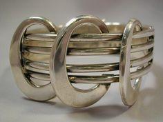 Bracelet | Sigi Pineda.  Sterling silver.  ca. 1960s, Taxco