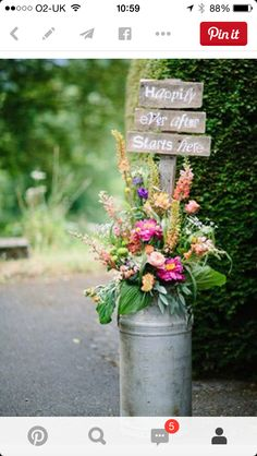 Ceremony milk churns for a lake wedding - rustic and perfect for the lake
