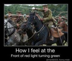 how i feel when the light turns green