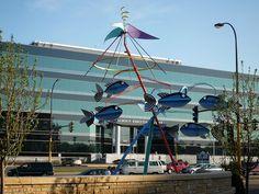 Fish Sculpture near Lake Calhoun in MN.