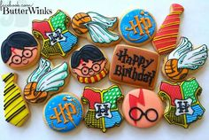 harry potter cookies. @Caiti Klassovity Lofts think you could handle these? ;)