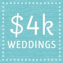 This site is pretty great. You choose your budget, then it shows you TONS of examples of weddings within the same budget. It even breaks down what each bride spent. There are some pretty great ideas!