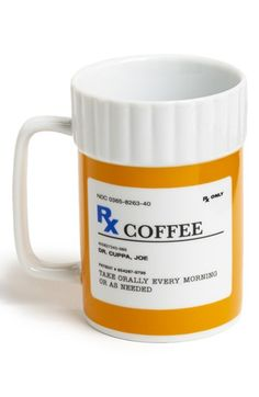 'Rx' Ceramic Coffee Mug | House of Beccaria