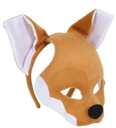 Plush Animal Mask with Sound - Fox in Clothes, Shoes & Accessories, Fancy Dress & Period Costume, Accessories | eBay