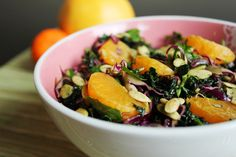 Winter Immune Boost Salad ~ There are certain foods that are known for their immune supporting properties and it is nice to include these during the cold winter months
