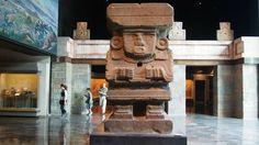 Diosa Chalchiutlicue  Museo Nacional de Antropología. Ciudad de México
