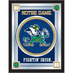 Notre Dame Fighting Irish Mascot Wall Mirror