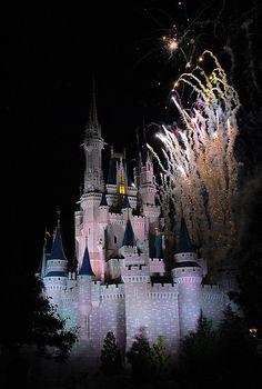 at Cinderella's Castle