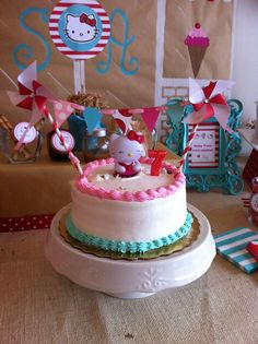 Hello Kitty Birthday Party Ideas 4th birthday parties Cute