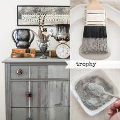 Trophy milk paint