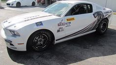 2013 Ford Mustang Super Cobra Jet Factory Drag Car presented as lot S234 at Kissimmee, FL 2015 - image1