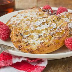 Breakfast Recipe: English Muffin French Toast.