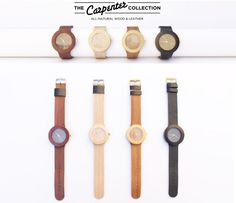 COol Wooden Watches - Analog Watch Co.s Carpenter Collection  Wood Watches  - Who Wooden? Who Wouldn't!