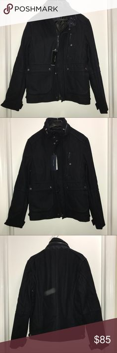 Zara Men's Wool biker jacket Zara Man  Wool biker / drummer stroke wool jacket   Heavy and thick   Size Medium   NWT    Very modern and stylish   Check out my other items ! I ship same or next day📬 Thanks for looking ! Zara Jackets & Coats