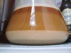Rinsing Beer Yeast