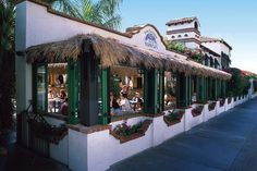 """Yummy food in Palm Springs: Dine al fresco on the tastiest enchiladas, and sip on strong mega margs at Las Casuelas Terraza (not to be confused with another resto, dubbed """"the original""""). Make sure to request outdoor seating—trust us, it's worth the wait—to be treated to the best live cover band in all of Southland (we can't help but barrage them with Stones requests...and they always humbly acquiesce!).    Las Casuelas Terraza, 222 South Palm Canyon Drive (near East Arenas Road)…"""