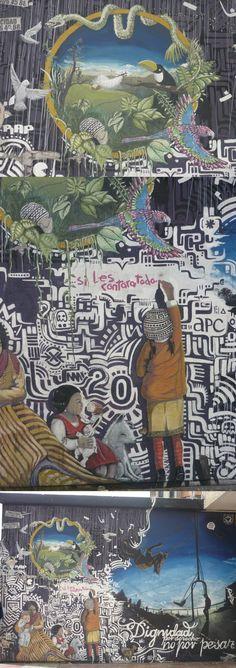 Dirección: Carrera 7a. Chapinero. Graffiti en Bogota.
