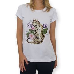 Camiseta Leopardo de @camisgray   Colab55