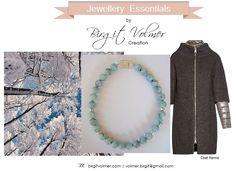 Aquamarine Necklace by Birgit Volmer Creation