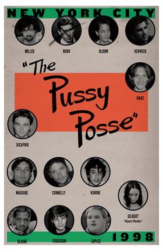 Pussy Posse Poster by thesmashshop on Etsy