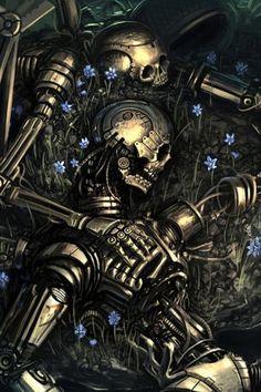 Robot skeleton Bones