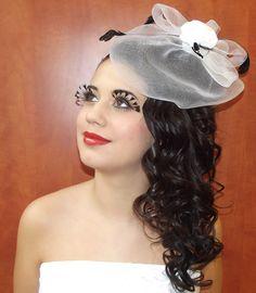 """Esküvői smink és haj (""""Feketén a hófehér"""") 1."""