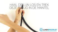 http://www.lijnenspecialist.nl/fenderlijn Hoe maak je een oog in een fenderlijn? Gebruik een holle lijn en splits een oog volgens deze techniek. #stootwillen #fenderlijn #fenders #oogsplits #splitsfilmpje