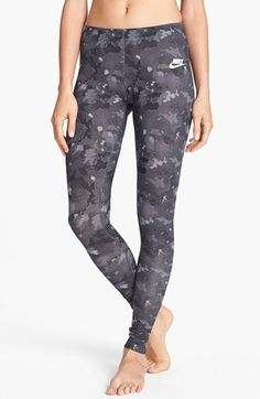 Nike 'AOP Leg-A-See' Print Leggings available at #Nordstrom