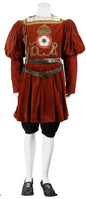 Tudor livery, the costume that lower servants of the king would wear.