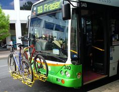 Bicycle Canberra: Bike Racks on Buses what a cool idea!
