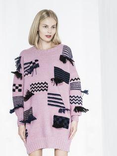 Naisen pampulaneulesukat Novita Nordic Wool ja 7 Veljestä