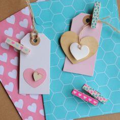 Tape knijpertjes | I Love You