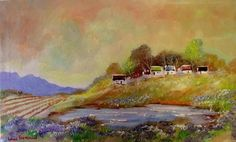 "Buy AN ORIGINAL LOUIS PRETORIUS:""ON THE HILL"" (500mm x 300mm x 20mm) for R500.00"