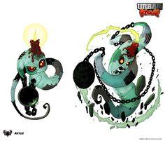 Urban Rivals - Artus by VanOxymore.deviantart.com on @deviantART