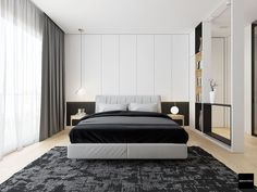 Roohome.com - Many people surely wants to renovate their home become more awesome. For that, we would like to introduce a trendy home design which looks perfect with the decoration in the room which can bring out a serenity impression and beautiful look. The designer has been arranged this home ...