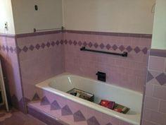 29 best tile vintage images on pinterest bath room bathroom