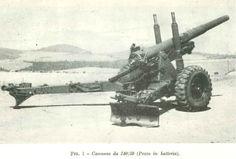 obice campale 140/30mm in batteria E.I. 1958