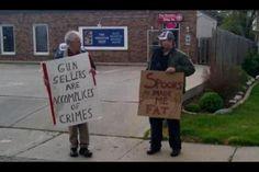 gun sellers versus spoons user