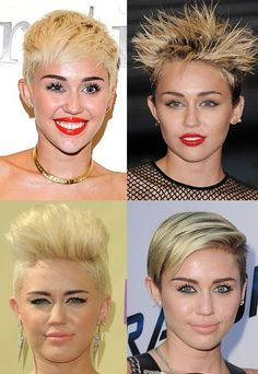 Miley Cyrus - we can't stop OMG-ing at her hair!