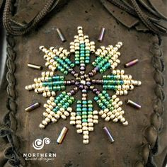 Best Indoor Garden Ideas for 2020 - Modern Beaded Flowers Patterns, Native Beading Patterns, Beadwork Designs, Bead Embroidery Patterns, Seed Bead Patterns, Beaded Embroidery, Powwow Beadwork, Native Beadwork, Native American Beadwork